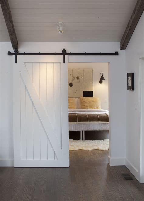 Barn Doors For Homes Interior Barn Door Lock Hall Traditional With French Doors White Blades