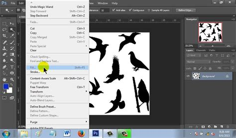 reset tool in photoshop how to change color using magic wand tool in photoshop