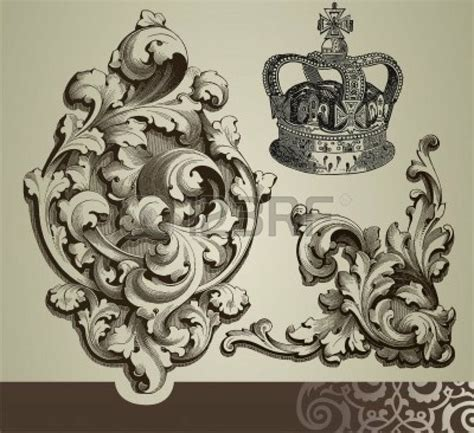 pattern ornamental tattoo 45 best baroque pattern images on pinterest