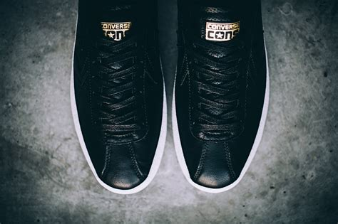 Converse Breakpoint Leather White Black converse cons breakpoint ox black leather sneaker bar detroit