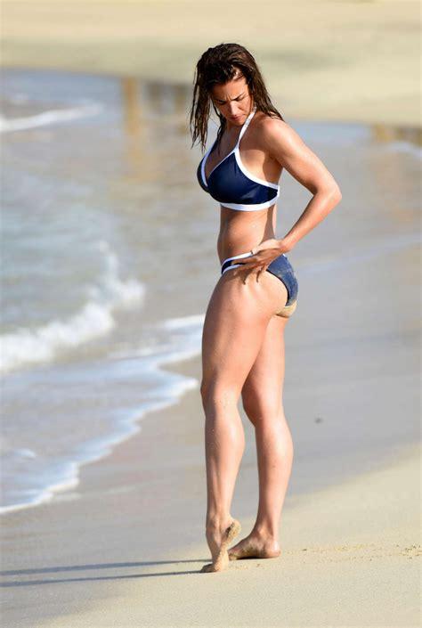 gemma atkinson  blue bikini   gotceleb
