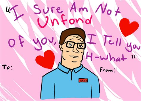 king of the hill valentines cards hank hill valentines2013 by zidamalav 236 on deviantart