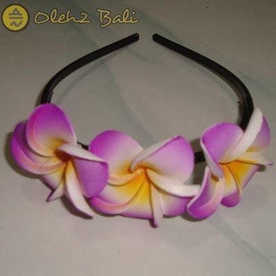 Spicegift Jepit Rambut Bunga Ungu bando jepun ungu oleh2bali kerajinan bali