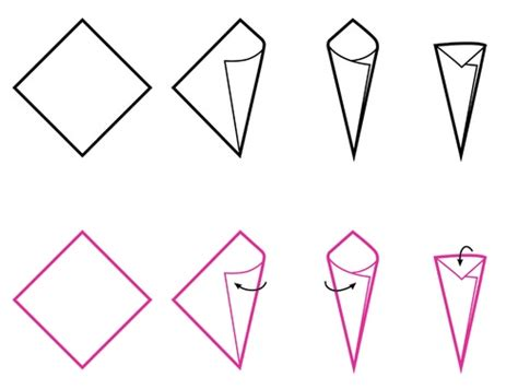 How To Make An Origami Cone - how to make an origami cone origami cones origami cones
