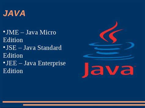 tutorial java micro edition java відомості презентація з інформатики
