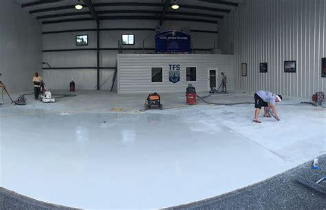 industrial  commercial epoxy flooring contractors
