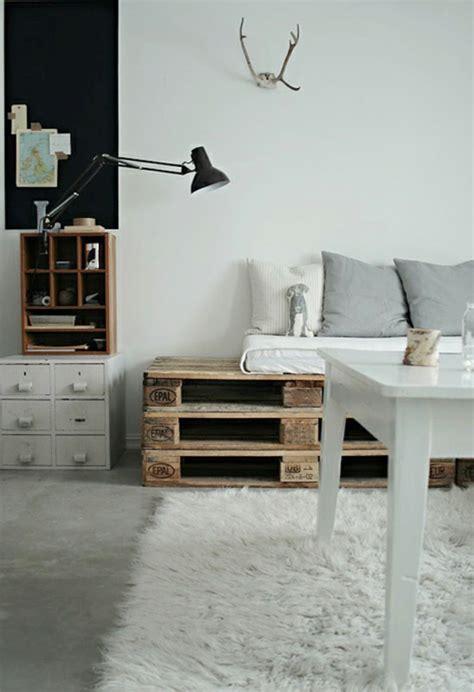 cool ideas  homemade wooden pallets furniture