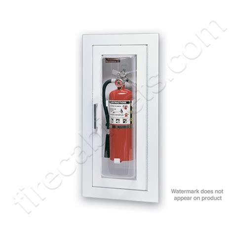 larsen fire extinguisher cabinets larsen s semi recessed 5 16 fire extinguisher cabinet mp5
