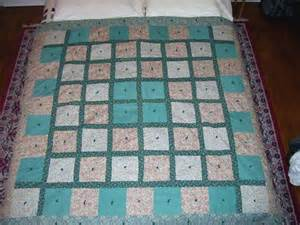 tying a quilt instead of quilting page 7