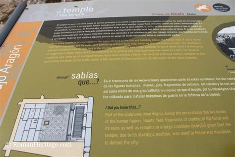 Azila Series temple templo azaila yacimiento azila archeological site