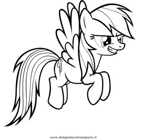 rainbow dash pony coloring page get this children s printable rainbow dash coloring pages