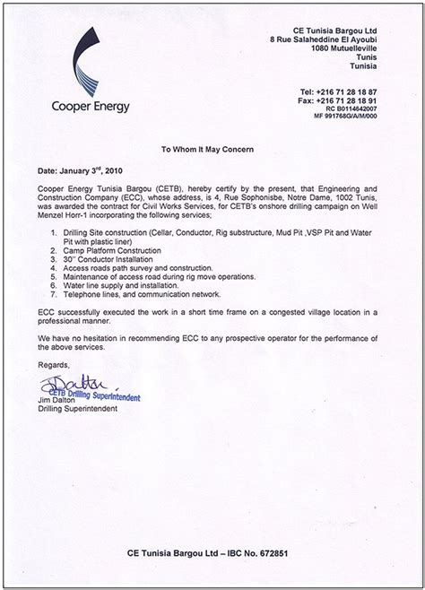 certification letter for construction work construction work construction work experience letter format