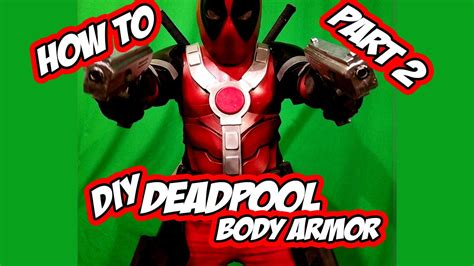 deadpool diy deadpool how to diy armor part 2 costume