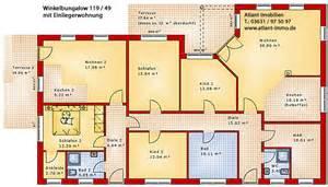 Bungalow Plan winkelbungalow 119 49 mit einliegerwohnung einfamilienhaus