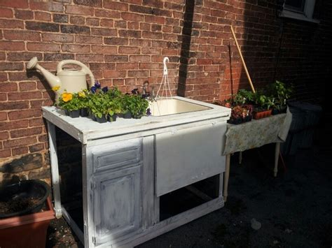 garden bench with sink 45 best images about outdoor sinks on pinterest gardens