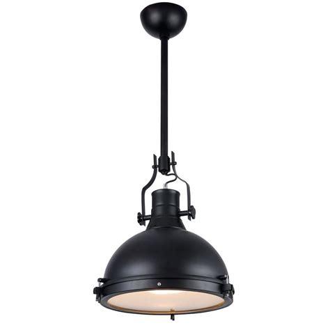 industrial pendant lighting home depot lighting industrial 1 light black pendant l
