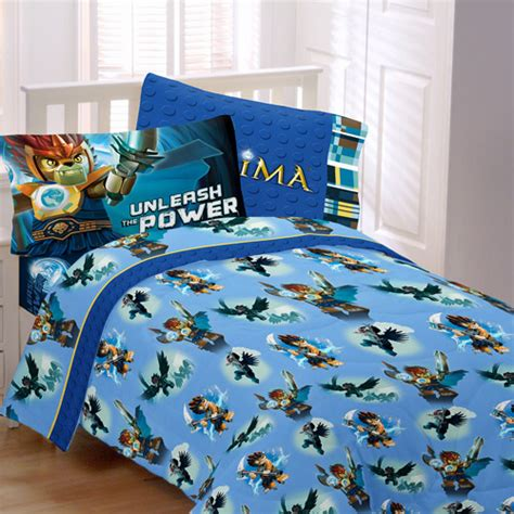 lego legends of chima 3 piece twin size bedding complete