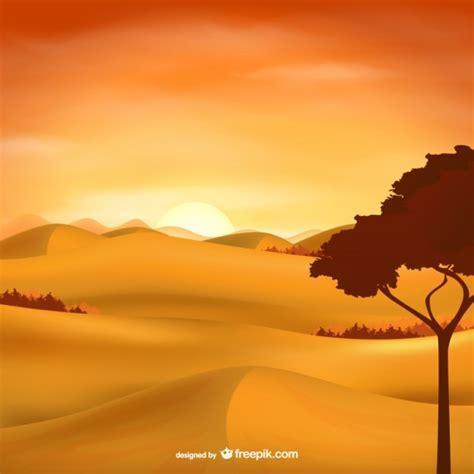 paisagem  deserto vector baixar vetores gratis