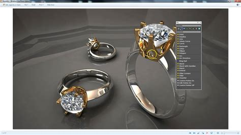 autocad jewelry tutorial gemvision matrix 8 smart flow 6 prong head tutorial youtube