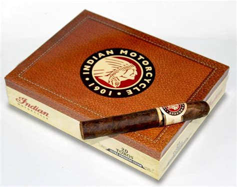 Cigar News: Indian Motorcycle Ultra Premium Cigars Nears