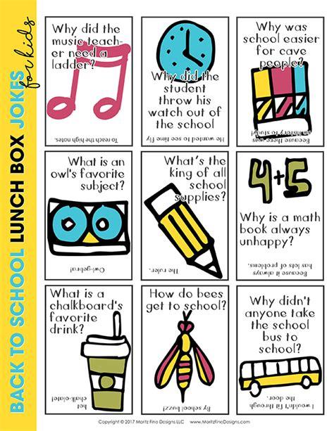 printable children s jokes lunch box jokes printable pack moritz fine designs