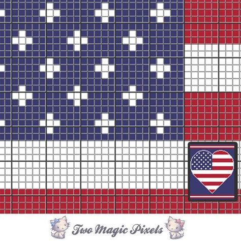 heart pattern on graph paper 11 best images about amerika on pinterest free pattern