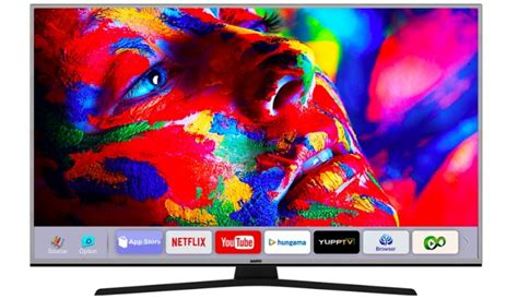 Tv Sanyo Aqua Series sanyo s new 4k smart tv series launched in india prices start at rs 64 990