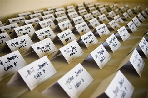 place card ideas wedding escort place card ideas at your side planning
