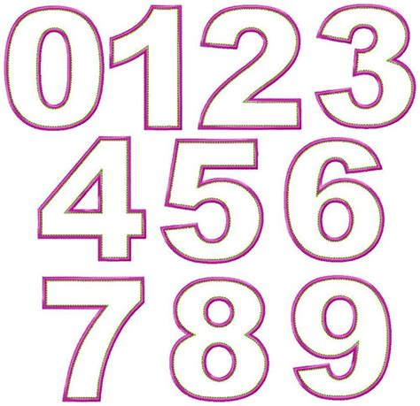 pattern between numbers big dreams embroidery just numbers machine embroidery