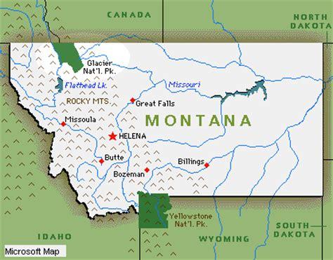 montana national parks map glacier national park 2003