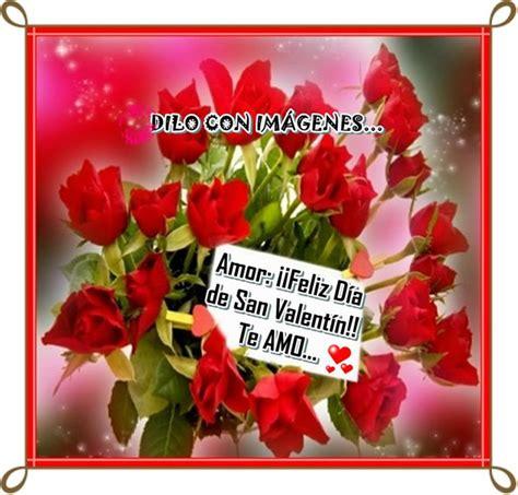 imagenes feliz dia de san valentin te amo rosas rojas 119 im 225 genes y fotos para compartir p 225 gina