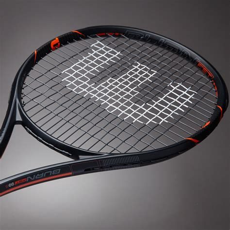 Raket Wilson Original raket tenis wilson burn fst 99 s matte black orange