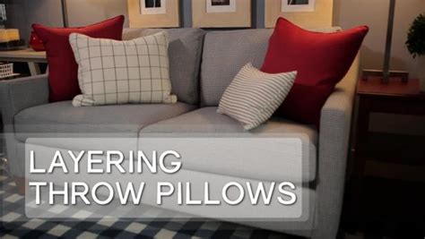 How To Choose Pillows by How To Choose Throw Pillows Hgtv