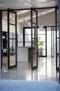 la porte coulissante en verre gain d espace et