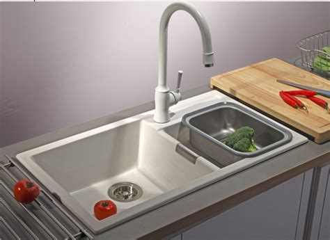 popular granite composite sinks buy cheap granite - White Granite Kitchen Sink