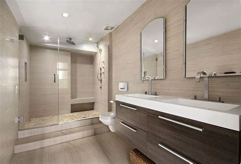 contemporary master bathroom with master bathroom by the - Contemporary Master Bathrooms