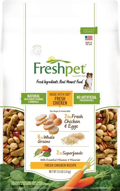 chewy food freshpet fresh baked chicken recipe food 3 5 lb bag chewy