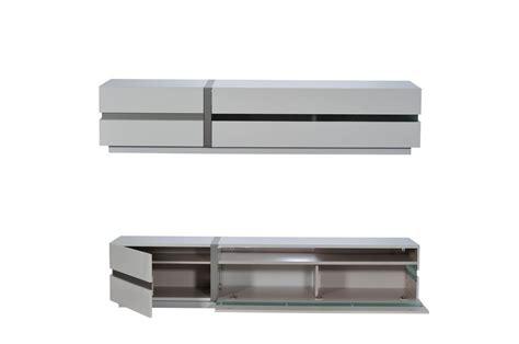 Eclairage Led Meuble by Meuble Tv Blanc Laqu 233 Design Avec 201 Clairage Led Novomeuble
