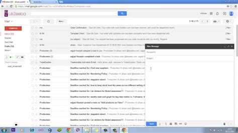 Create An Email Template In Gmail No Html No Coding Youtube Gmail Template Emails
