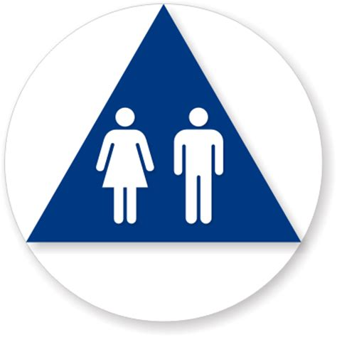 unisex bathrooms california california unisex restroom sign in white and blue sku