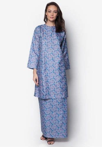 Kaitan Baju Hook Eye poly cotton baju kurung from creations in purple purple poly cotton baju kurung by