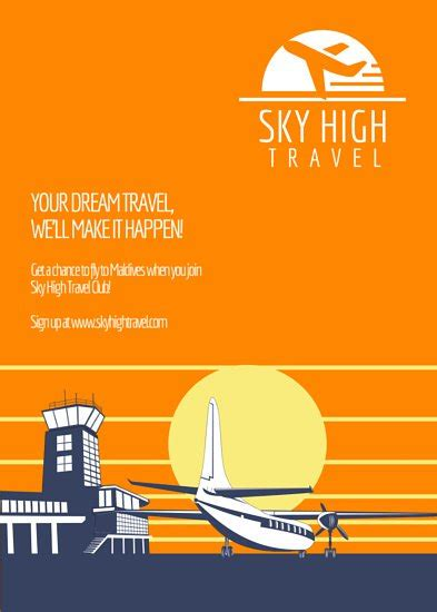 Travel Promotional Flyer Templates By Canva Promotional Flyer Template