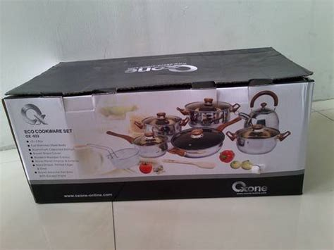 Panci Set Oxone Eco Cookware Set Ox 933 dinomarket pasardino oxone ox 933 panci eco cookware set