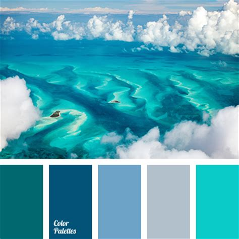 Themes In Color Of Water | color of water in ocean color palette ideas