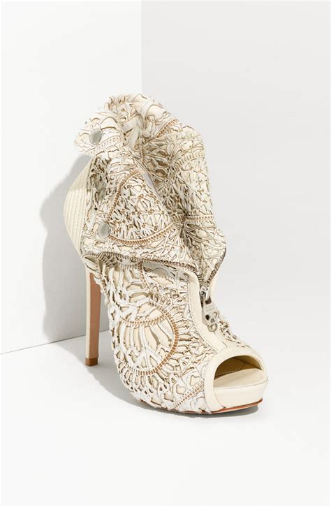 Bridal Bootie Shoes by Mcqueen Bridal Booties Onewed