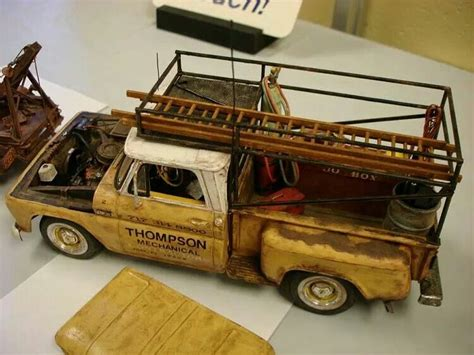 commercial vehicle model kits commercial style pickup truck cool stuff pinterest