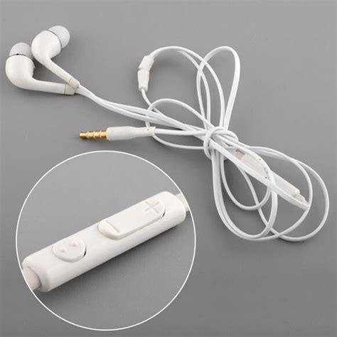 Earphone Samsung Galaxy in ear earphone with mic wired in ear earphone