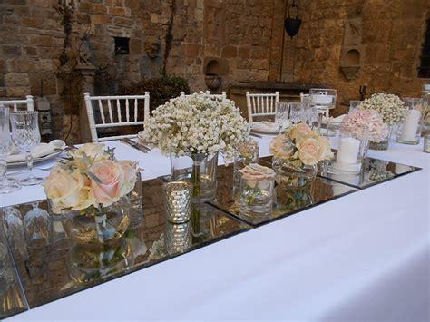 tavolo imperiale centrotavola e allestimenti floreali per il ricevimento