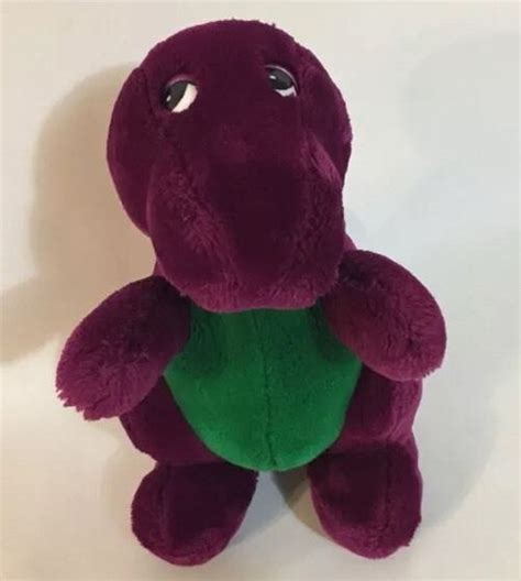 barney dinosaur plush shop tv and props