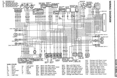 suzuki 230 quadrunner wiring diagram cdi suzuki free